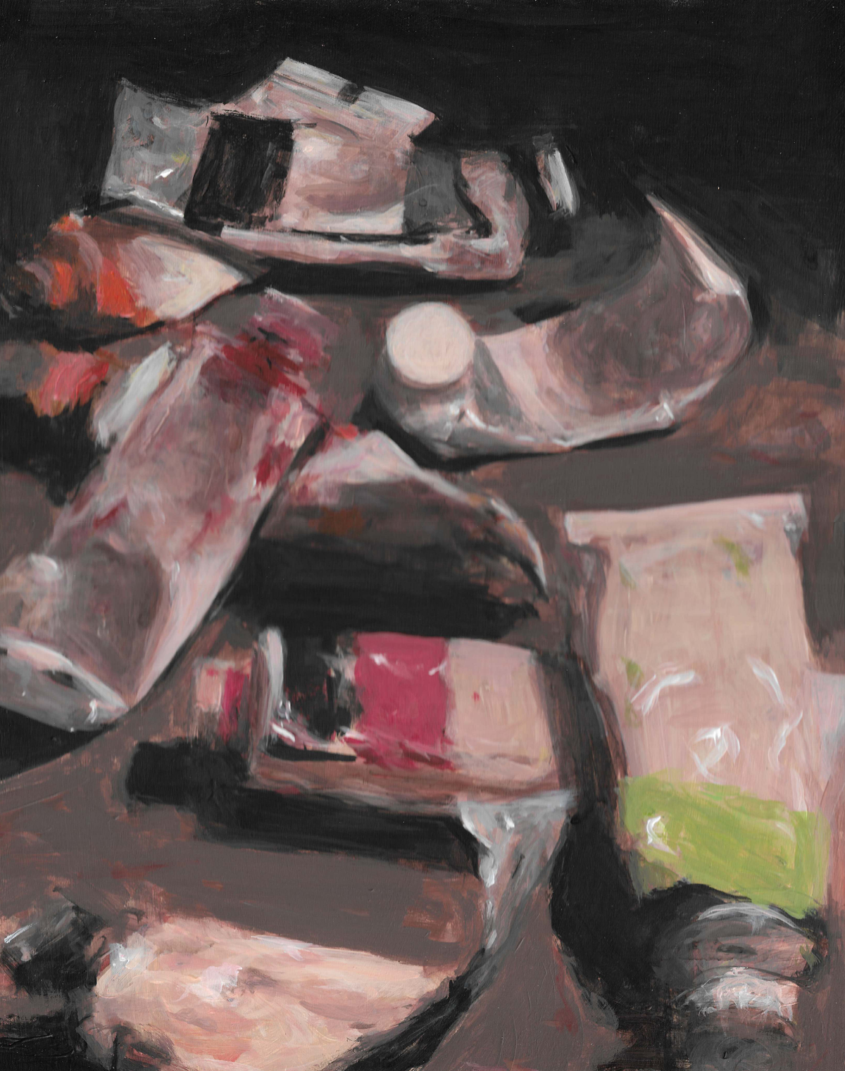 Image of Paint Tubes (Original)