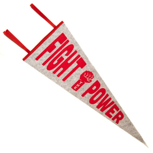 Image of Fight The Power Pennant