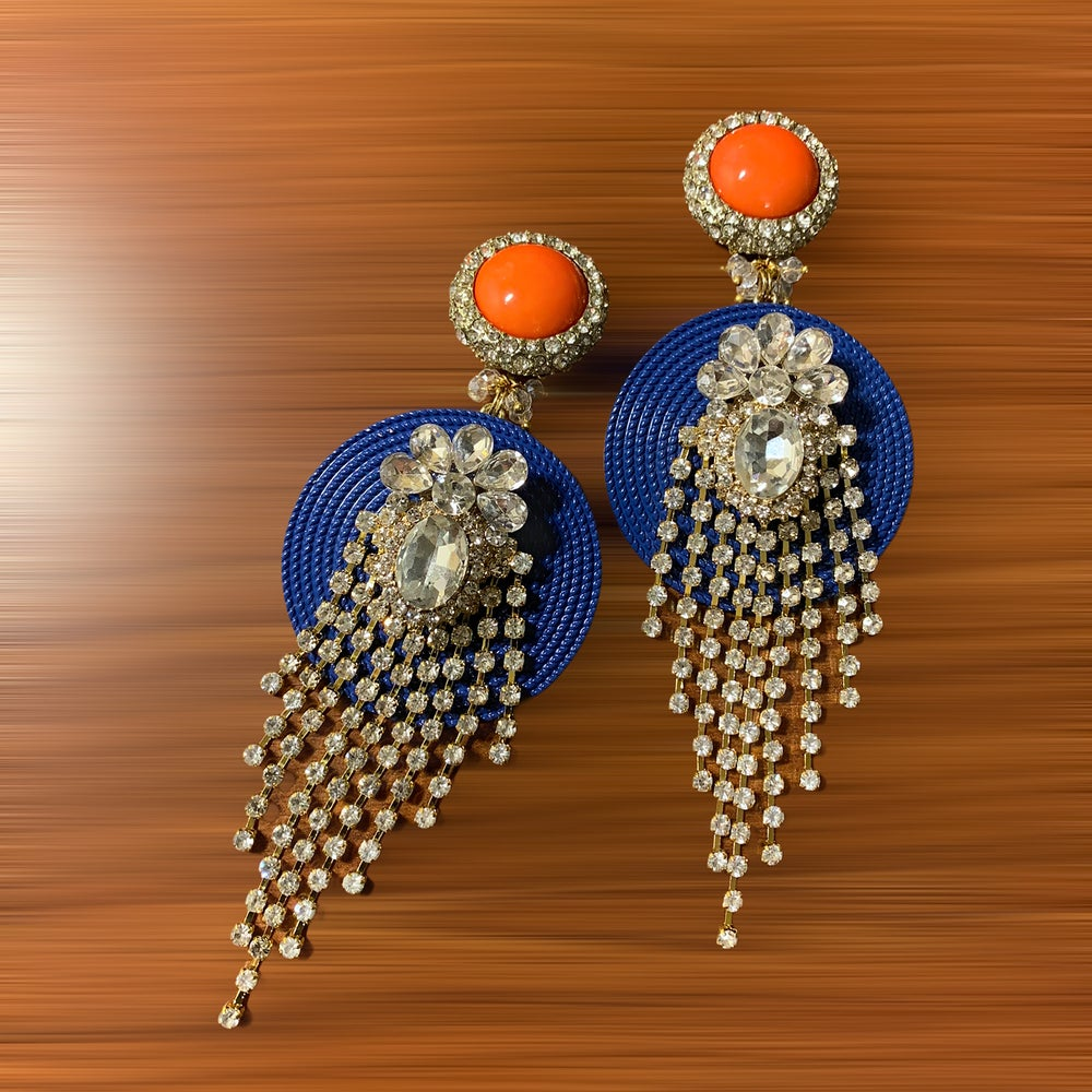 Image of Bright Fringe earrings