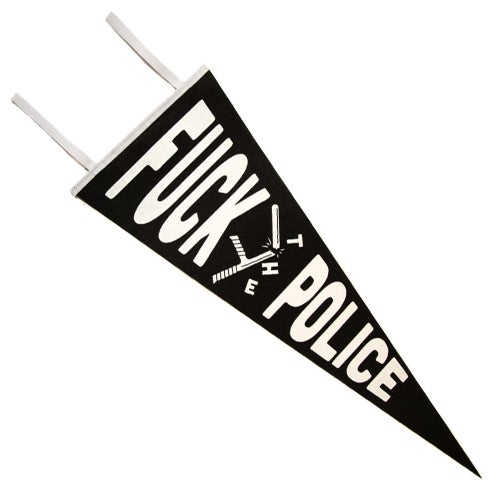 Image of Fuck the Police Pennant