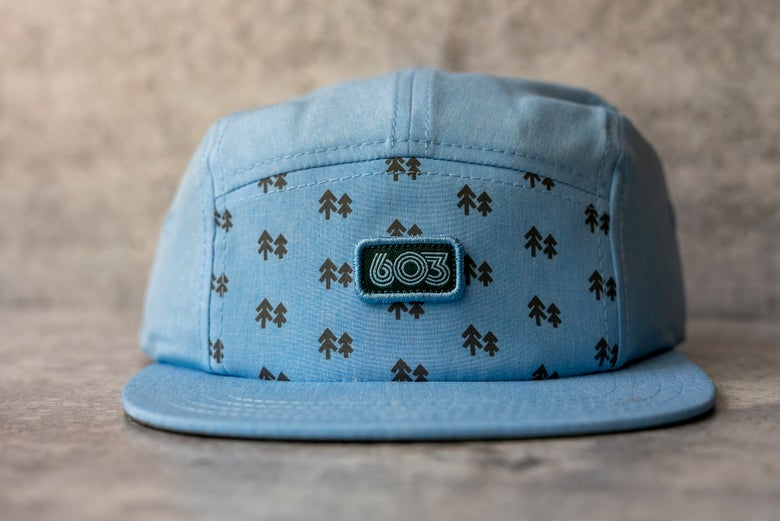 Image of 5 panel 603 blue tritech