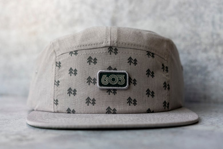 Image of 5 panel 603 grey tritech