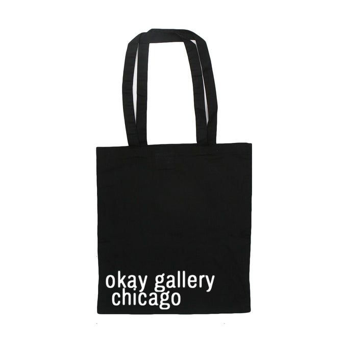 Image of okay gallery chicago  Classic Tote Bag Black
