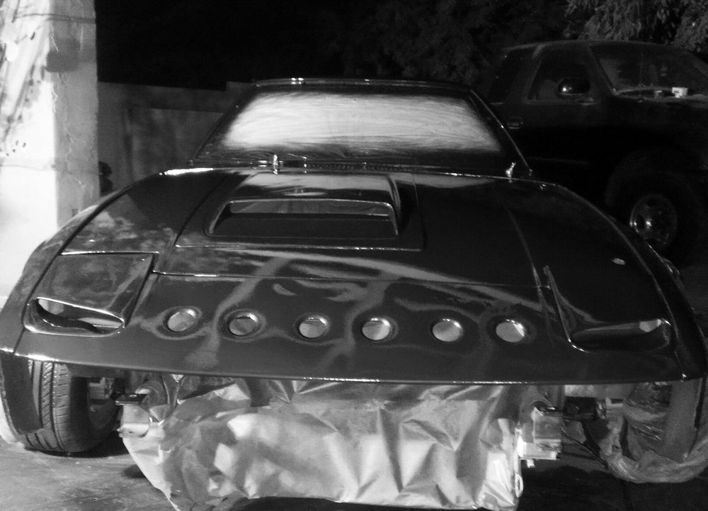 Image of Fc Rx7 tii style hood scoop vent
