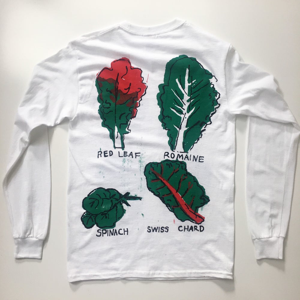 Leafy Greens Long Sleeve T-shirt