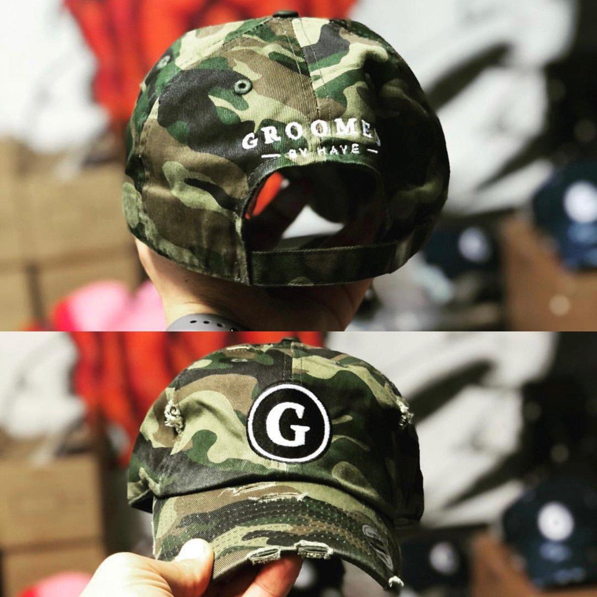 "Image of Vintage Signature "" G "" Logo Dad Hat"