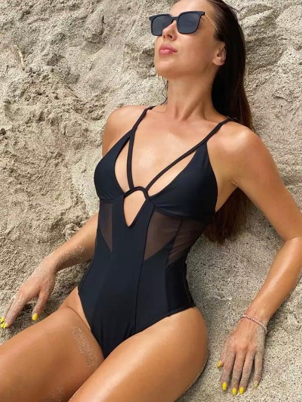 Mio Mesh Swimsuit