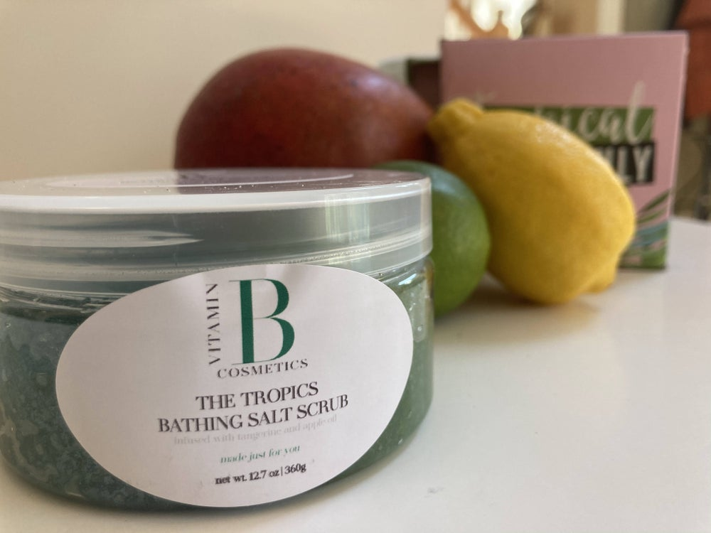 Image of The Tropics Bathing Salt Scrub - Body Scrub