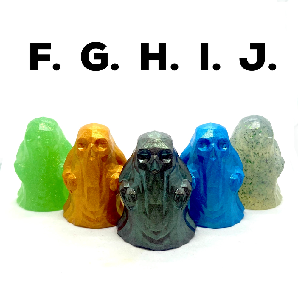 Image of Polyghost (Alternate Colors) Resin