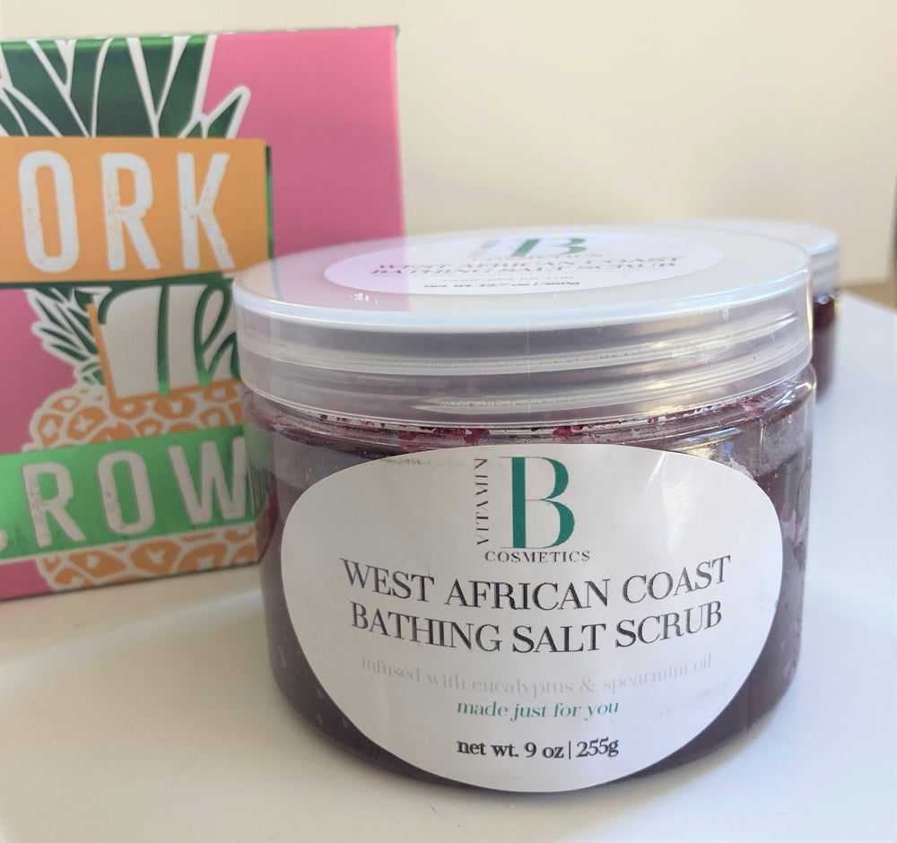 Image of West African Coast Bathing Salt Scrub - Body Scrub