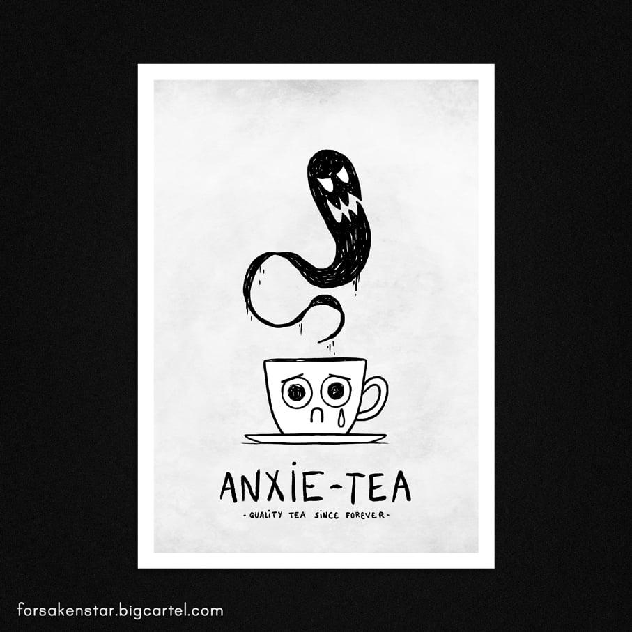 Image of Anxie-tea - A4 (21 x 29,7 cm)