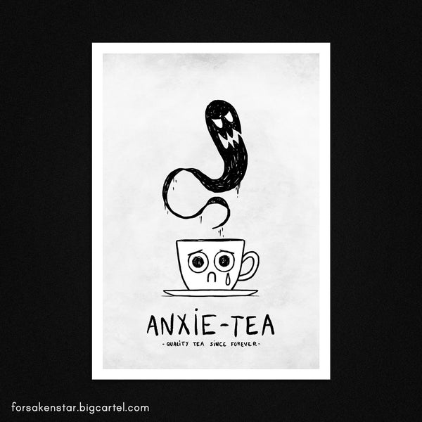 Image of Anxie-tea - A4 (21 x 29,7 cm)