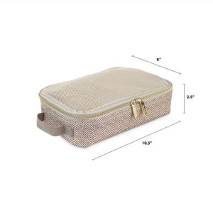 Image of Taupe Packing Cubes (Set of 3)