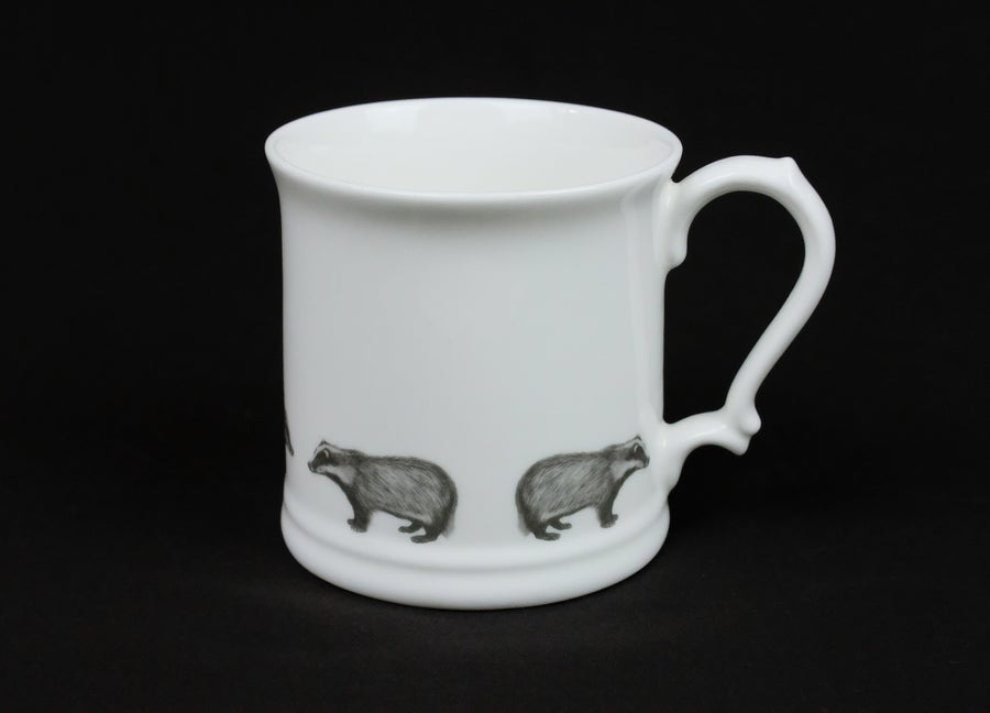 Image of Casey Allum - 'Badger' Tankard
