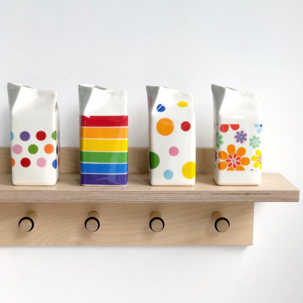 Image of Flower Power Milk Jug