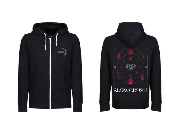 Image of Moon - Church zip up hoodie