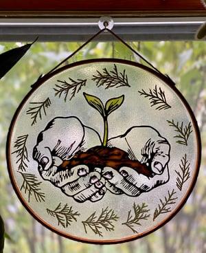 """Image of """"Grow"""" Window Hanging"""