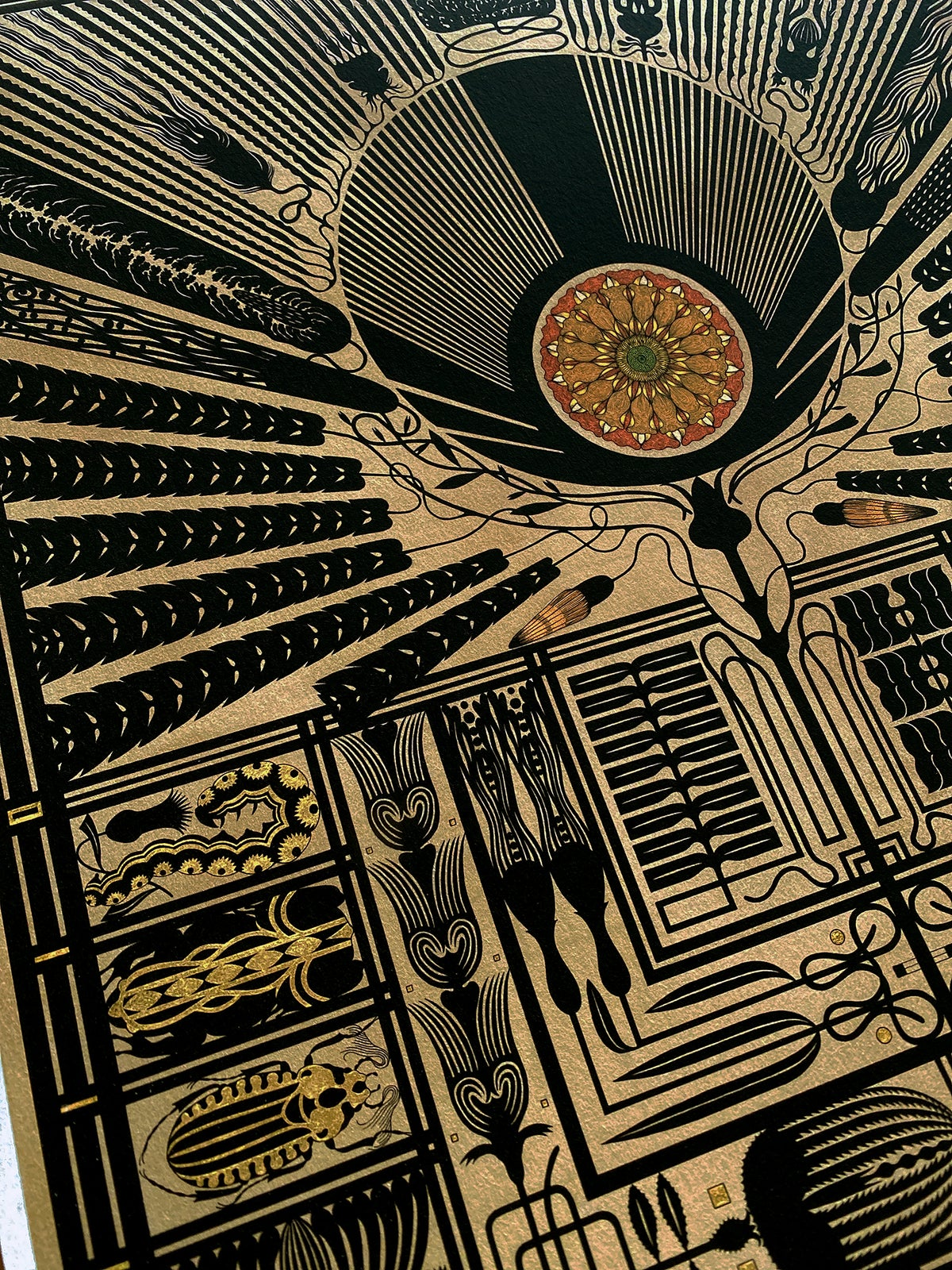 Image of 'A Living Temple' Limited Edition Print