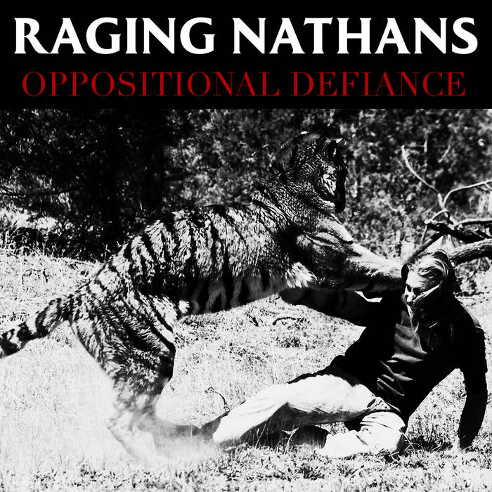 Image of RAGING NATHANS - OPPOSITIONAL DEFIANCE CD