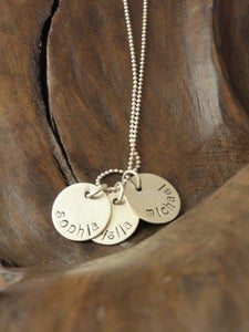 Image of Personalized 3-Charm Necklace