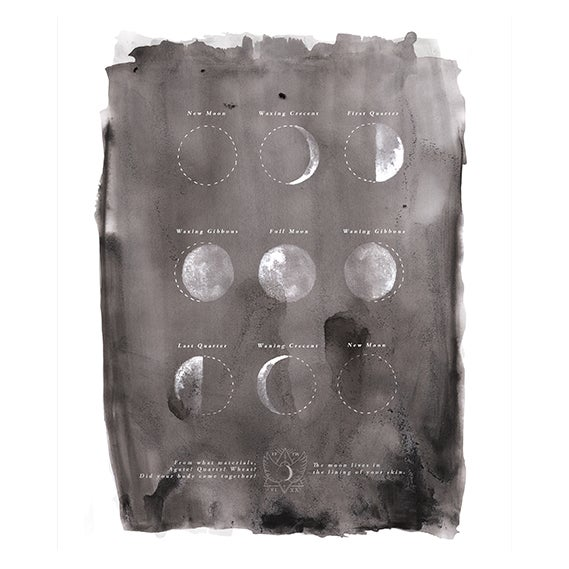 "Image of ""Moon Phase"" by Annie Brooks"