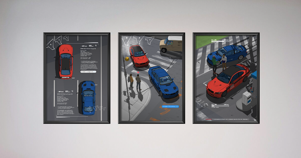 Image of KUWTB X Subclass 3 Piece Poster Set (PRE-ORDER)