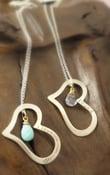 Image of i love u mommy necklace