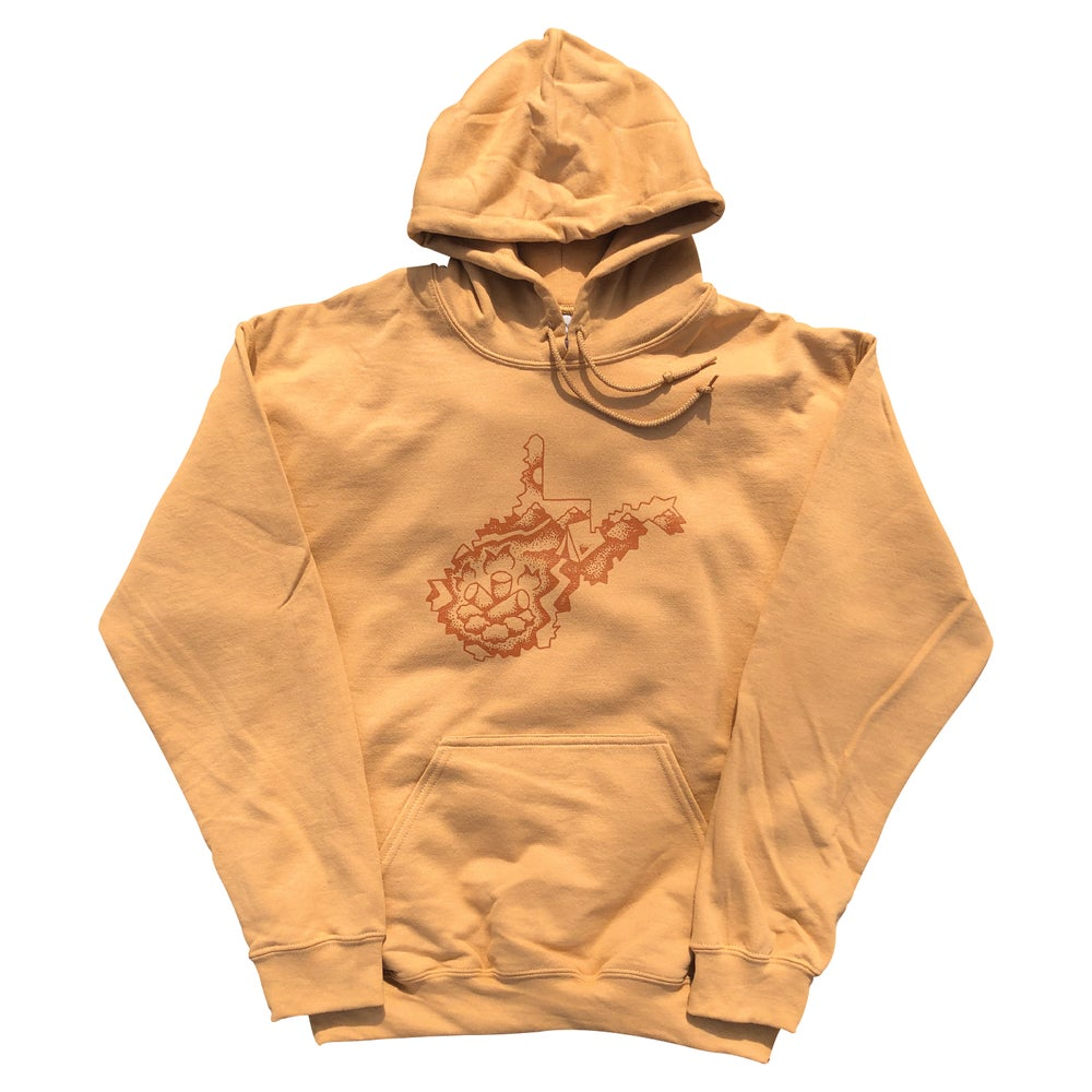 "Image of Old Gold ""West Virginia Campfire"" Hoodie"