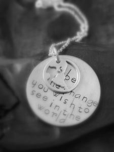 Image of BE the Change Necklace