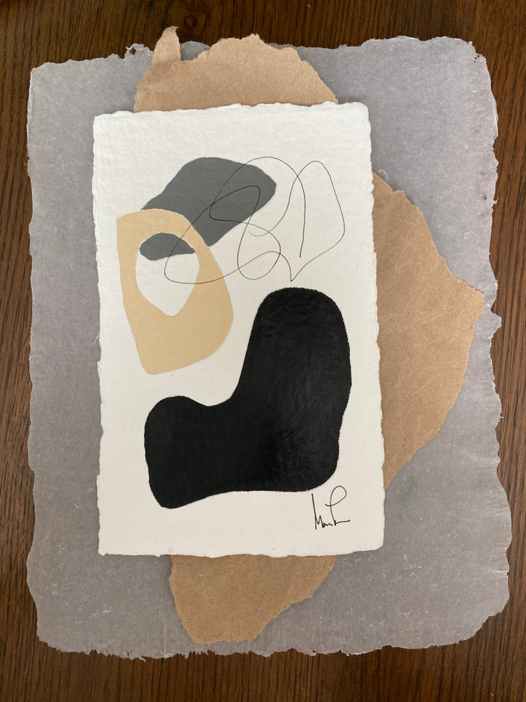 Image of ML• Shape Collection on Handmade Paper - Vellum Paper