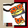 Fanny Pack and Matching Mask Designs By IvoryB Orange and Yellow