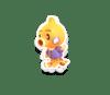 Banana Animal Crossing Octopus Sticker