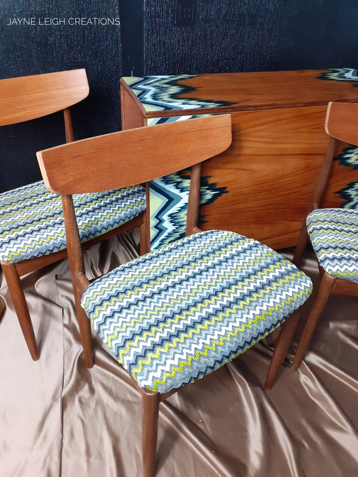 Image of Kofod Larsen by G Plan Chairs and G Plan Style Dining Table