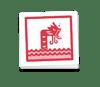 Shiny Gyrados Square Sticker