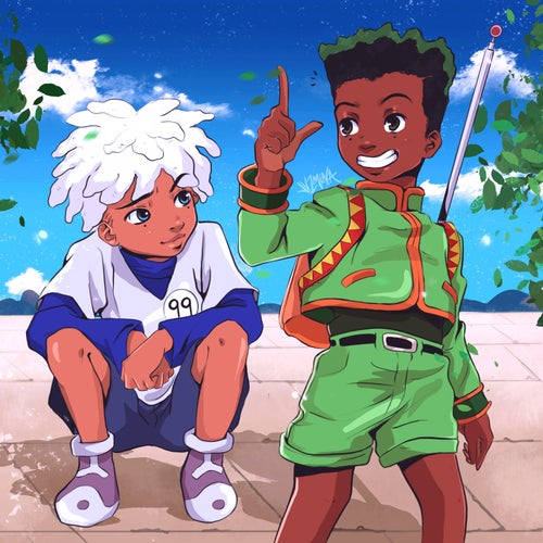 "Image of ""Gon and Killua"" Sticker"
