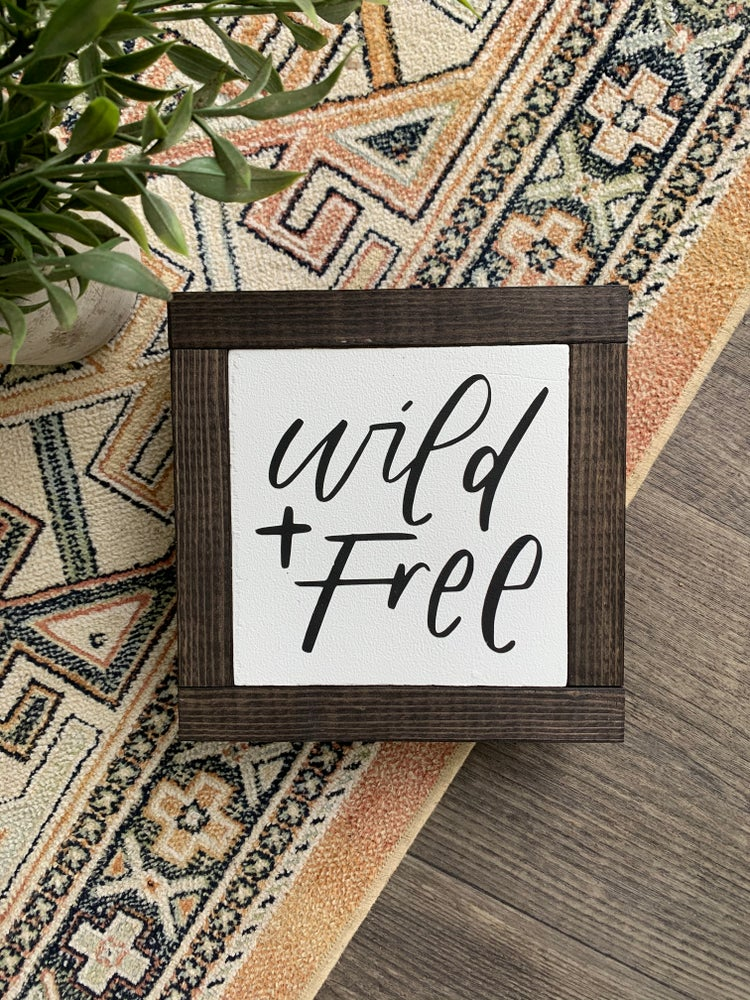 Image of Wild and Free