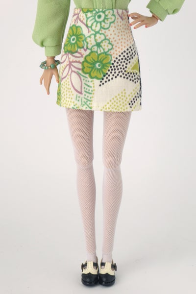 Image of LAST RE-STOCK Vintage mini skirt for Poppy Parker or Barbie (see description)