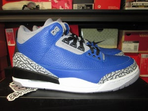 "Image of Air Jordan III (3) Retro ""Varsity Royal/Black"""