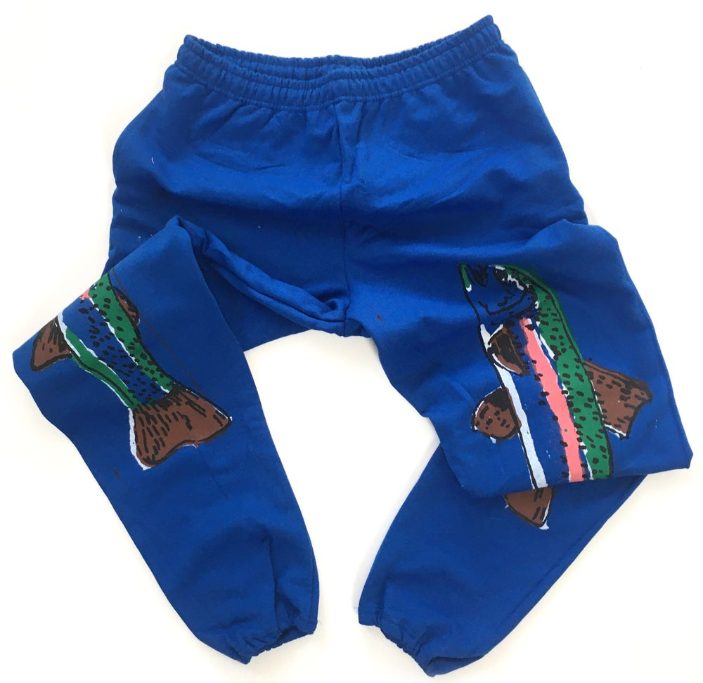 Rainbow Trout Sweatpants