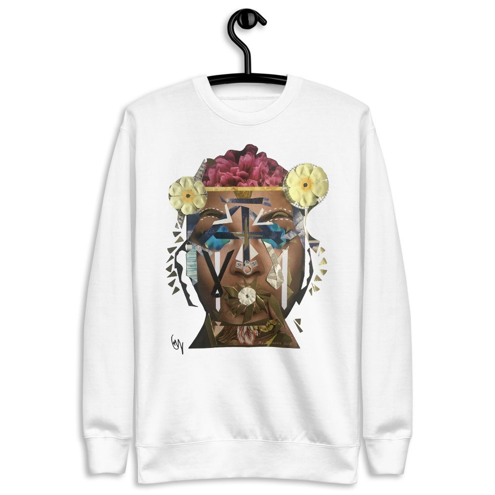 Image of Unisex Wearable Art Fleece Pullover Sweatshirt