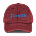 Image of junkie cotton twill hat (4 colors)