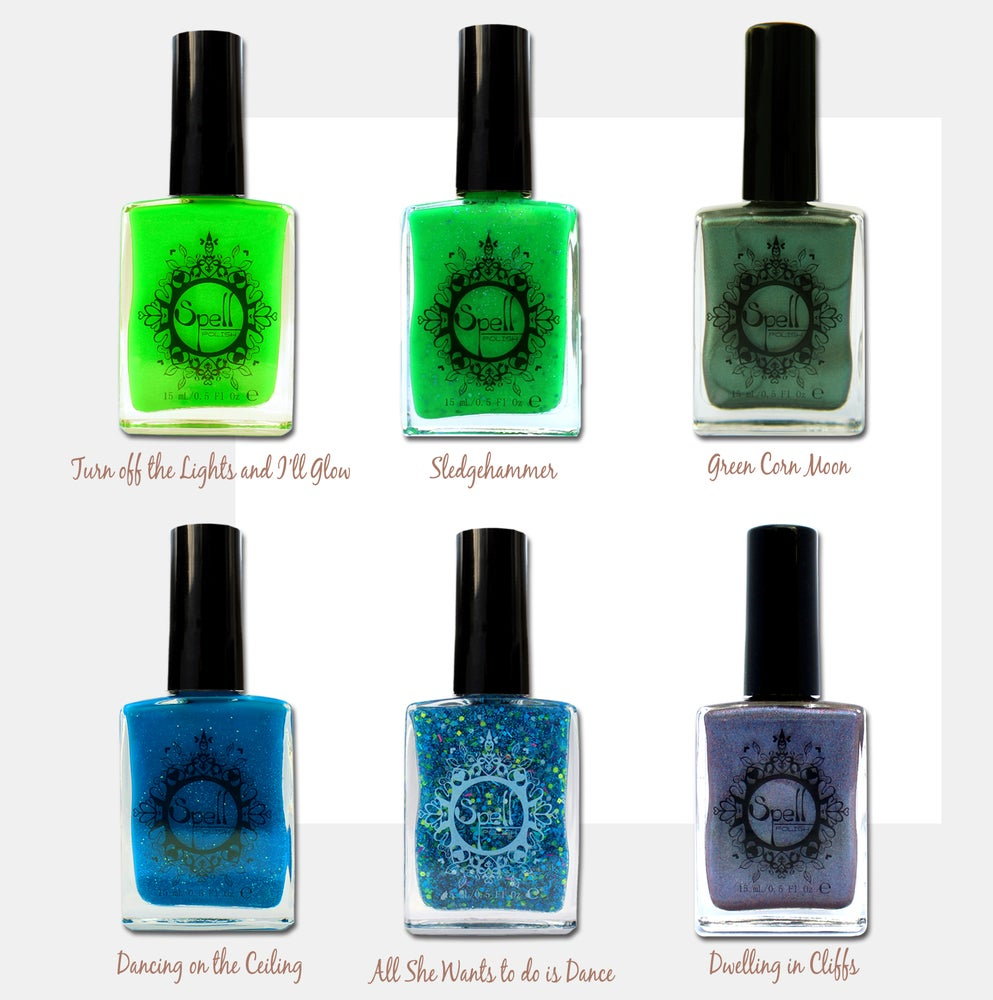 Image of SPELL POLISH ~Discontinued SALE~ nail polish! Get them while you can!