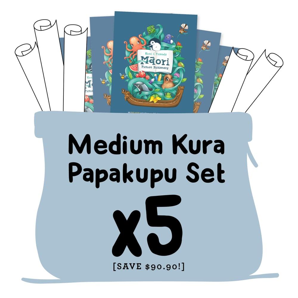MEDIUM Kura Papakupu Set (Set of 5 x Dictionaries, 5 x A3 Posters)