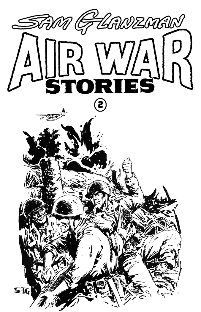 Image of AIR WAR STORIES #2 (Cover B)