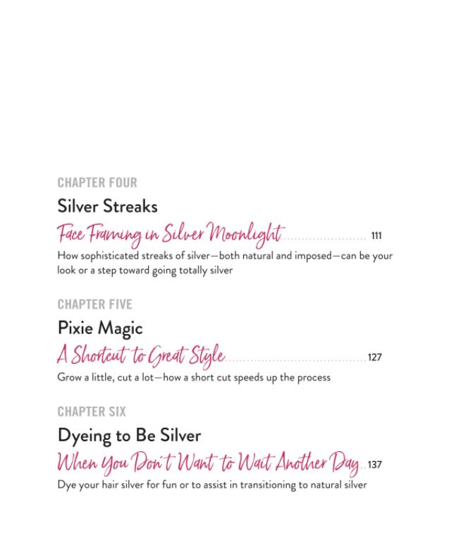 Image of 'Silver Hair: A Handbook' by Lorraine Massey & Michele Bender