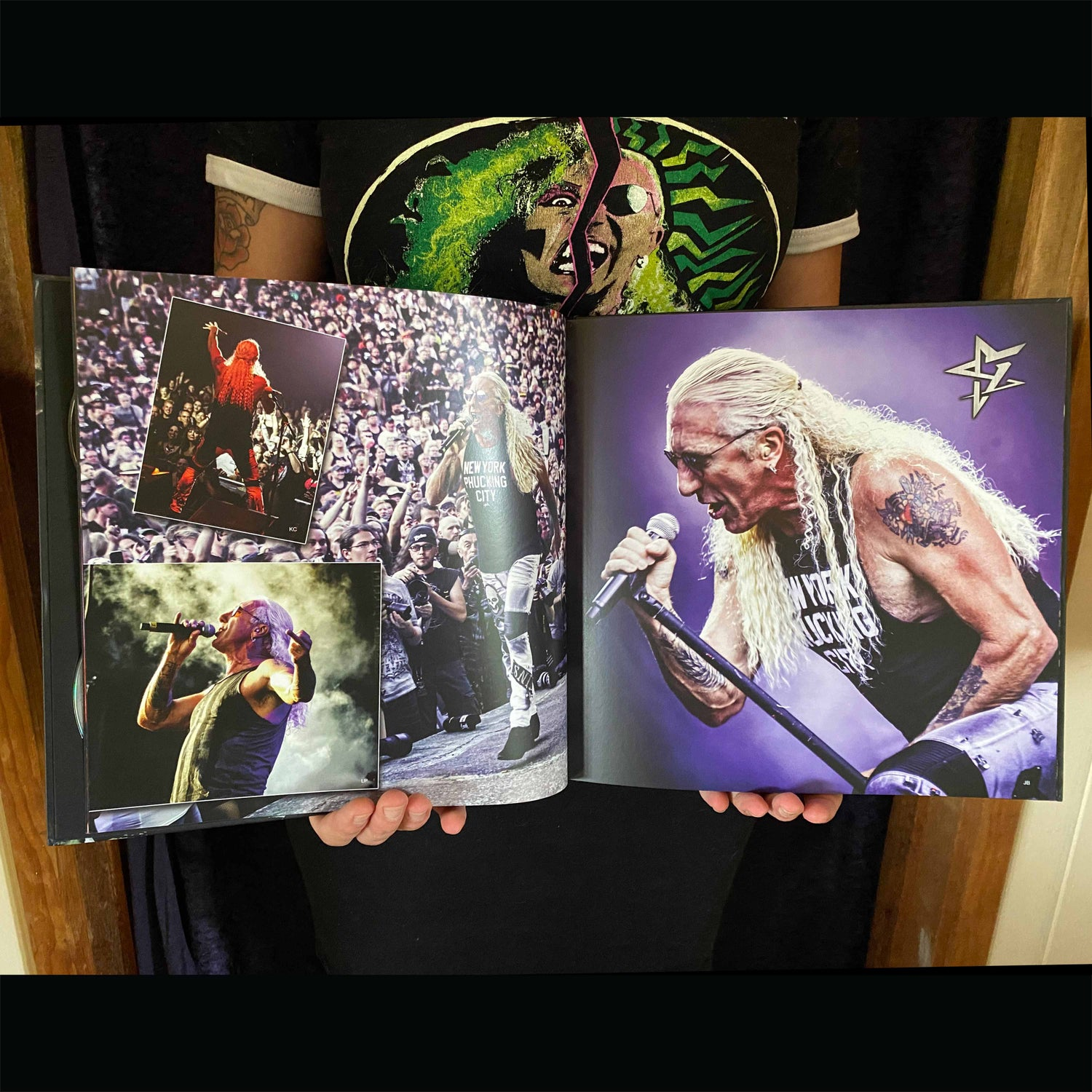 Image of DEE SNIDER - For the Love of Metal - Live! - LIMITED EDITION HUGE EARBOOK/DVD/BLURAY/CD/7'vinyl