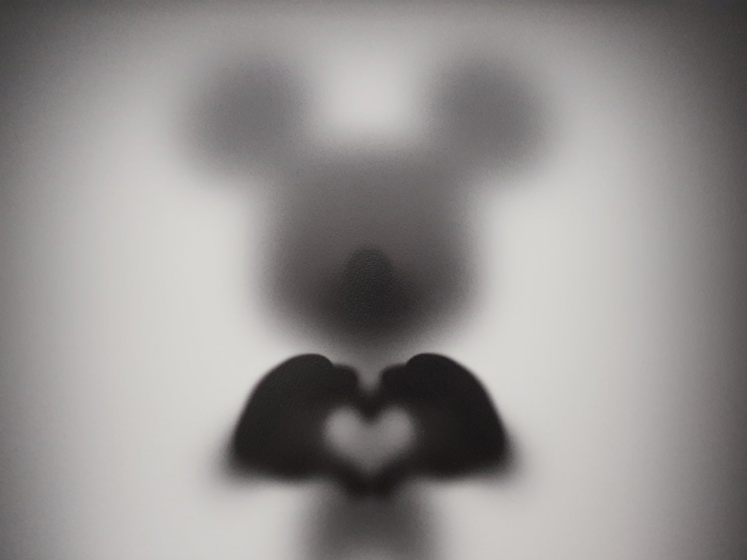"""Image of GONE """"SHARE THE LOVE M""""- LIMITED EDITION PRINT - 35CM X 35CM"""