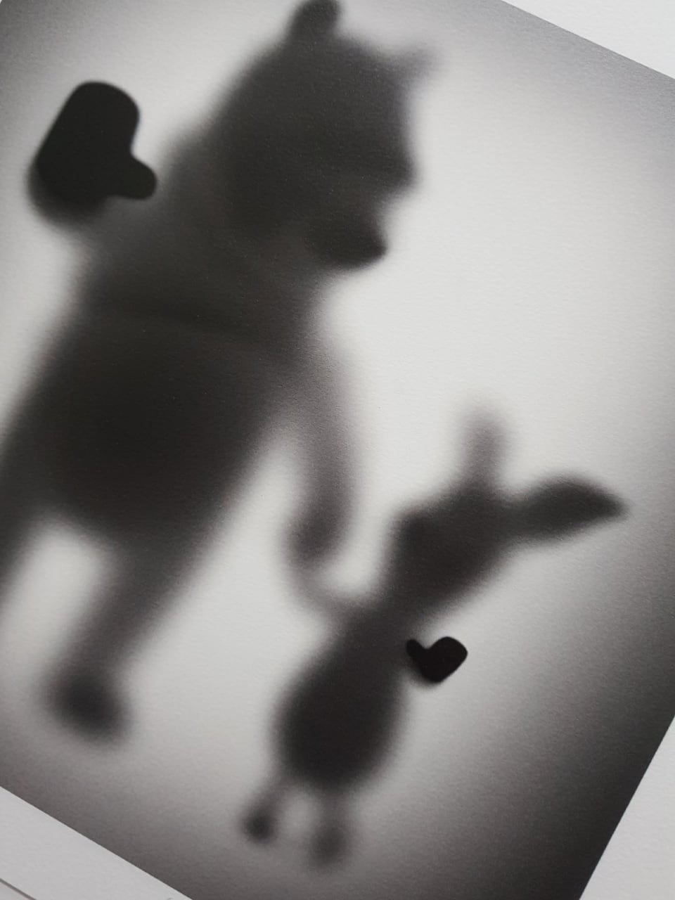 """Image of GONE """"BEAR AND PIG""""- LIMITED EDITION PRINT - 35CM X 35CM"""