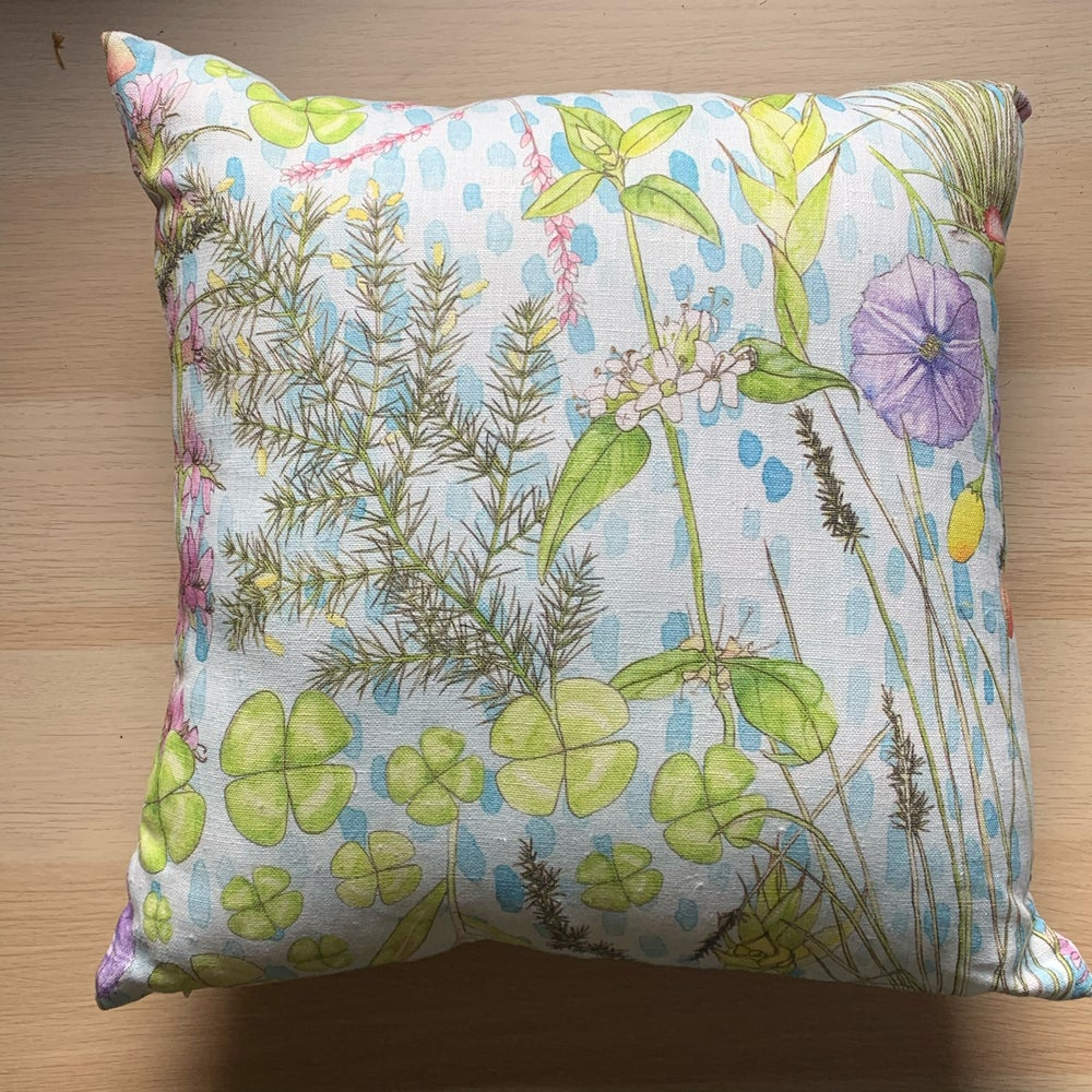 Image of Wetlands. Cushion