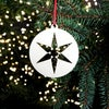 Wooden Christmas Decorations - Star